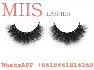 wispy 3D mink lashes eyelash