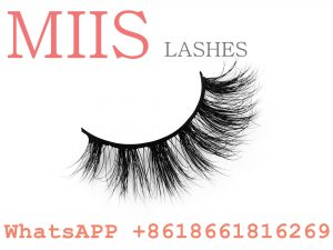 private label 3d mink eyelash